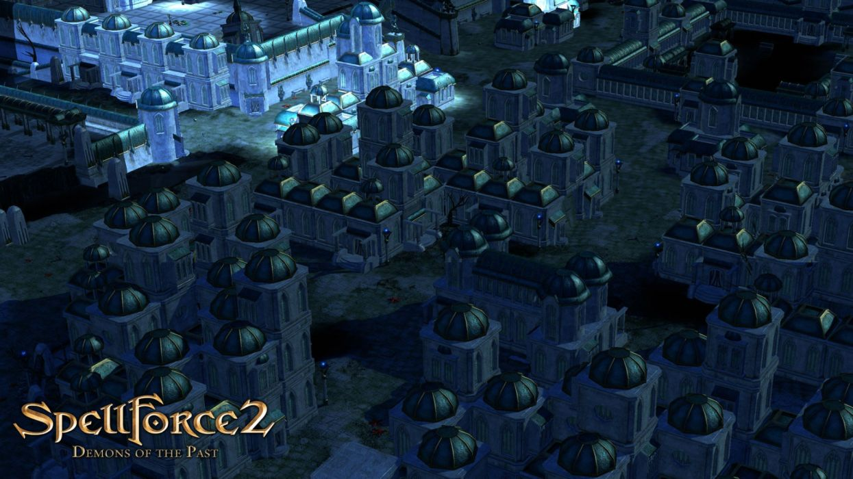 SPELLFORCE rpg rts fantasy strategy magic wallpaper