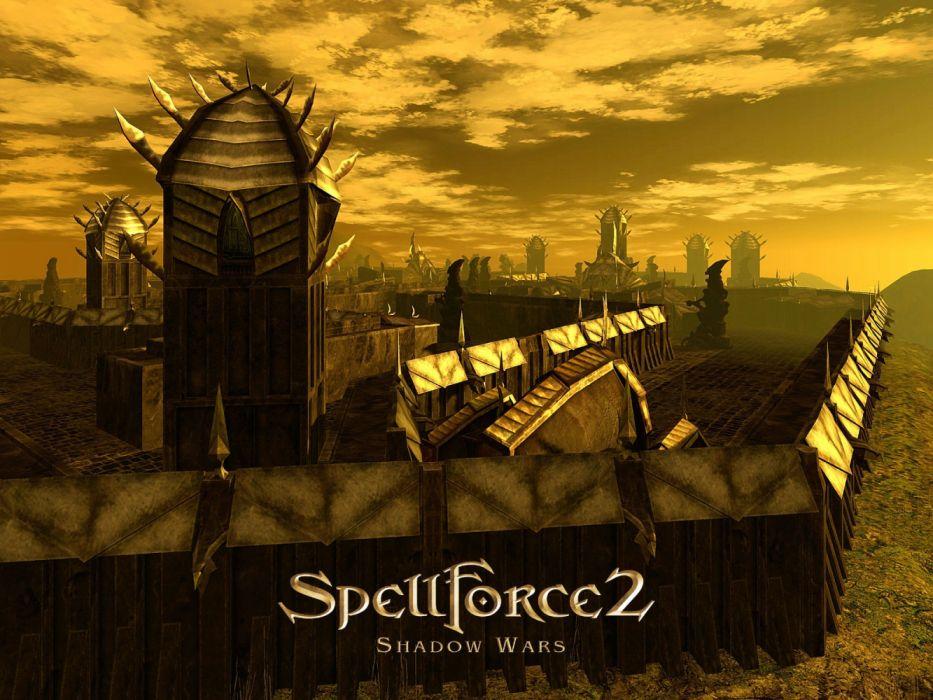 SPELLFORCE rpg rts fantasy strategy magic wallpaper