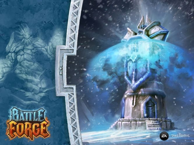 BATTLEFORGE 1bfre fantasy video game videogame online rts strategy skylords mmo born battle forge reborn wallpaper