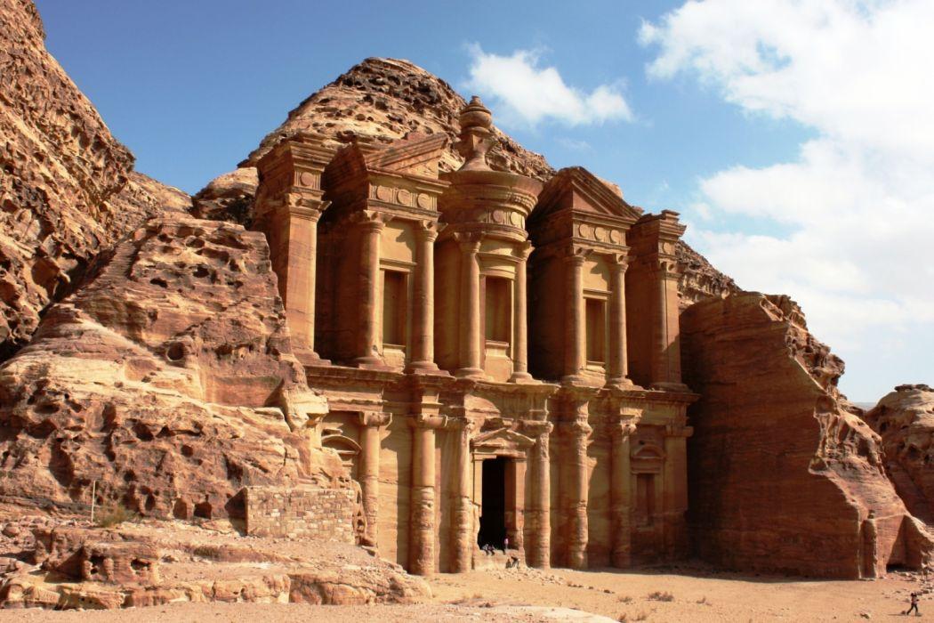 Petra arquitectura arqueologia siria wallpaper