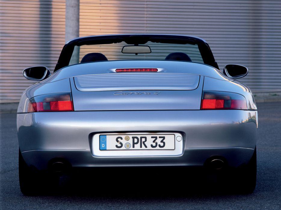 Porsche 911 Carrera 4 Cabriolet 996 MkI 1998 wallpaper