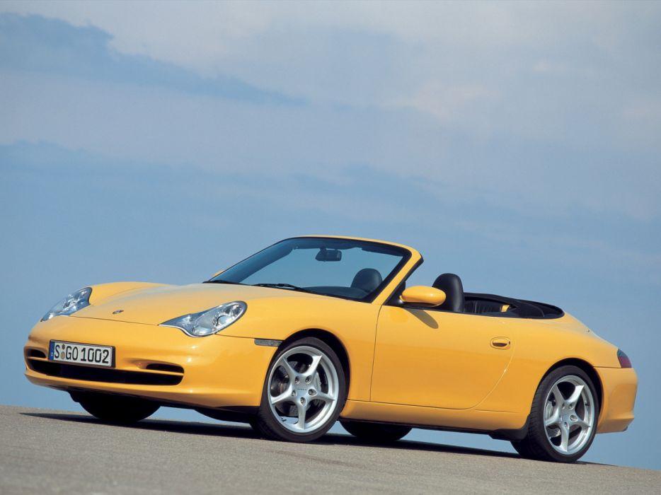 Porsche 911 Carrera 4 Cabriolet 996 MkII 2001 wallpaper