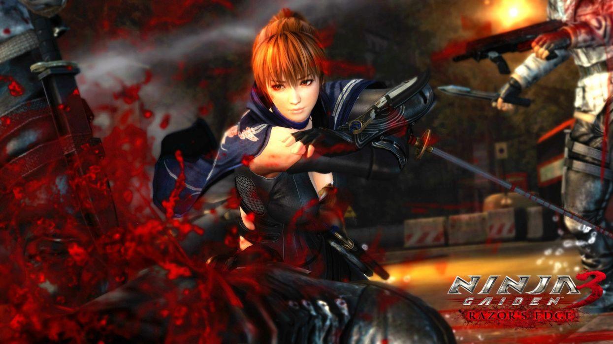 NINJA GAIDEN fantasy anime game video videogame action adventure fighting ryukenden arcade warrior wallpaper