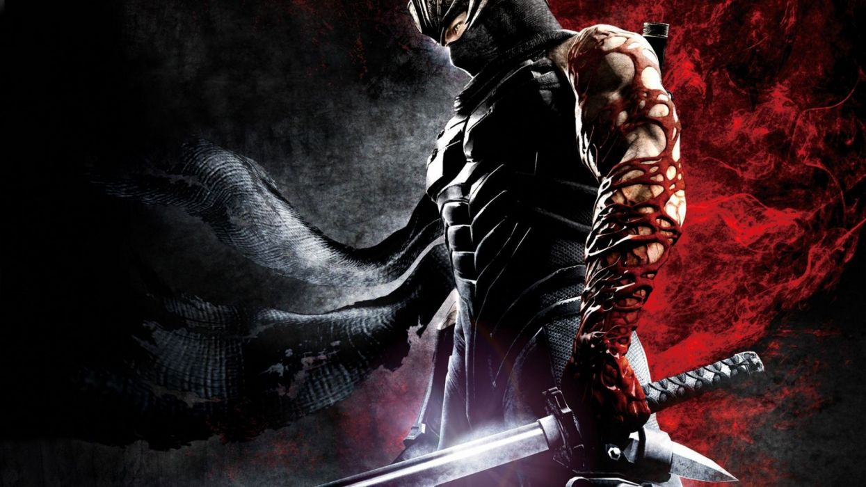 NINJA GAIDEN fantasy anime game video videogame action adventure fighting ryukenden arcade warrior wallpaper