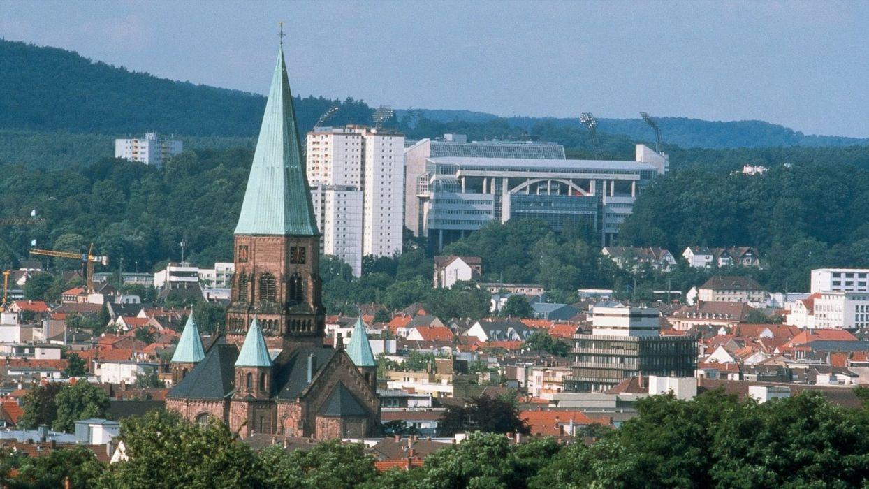 Kaiserslautern ciudad alemania europa wallpaper