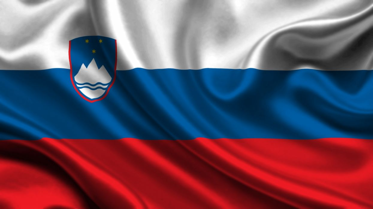 bandera eslovenia europa wallpaper
