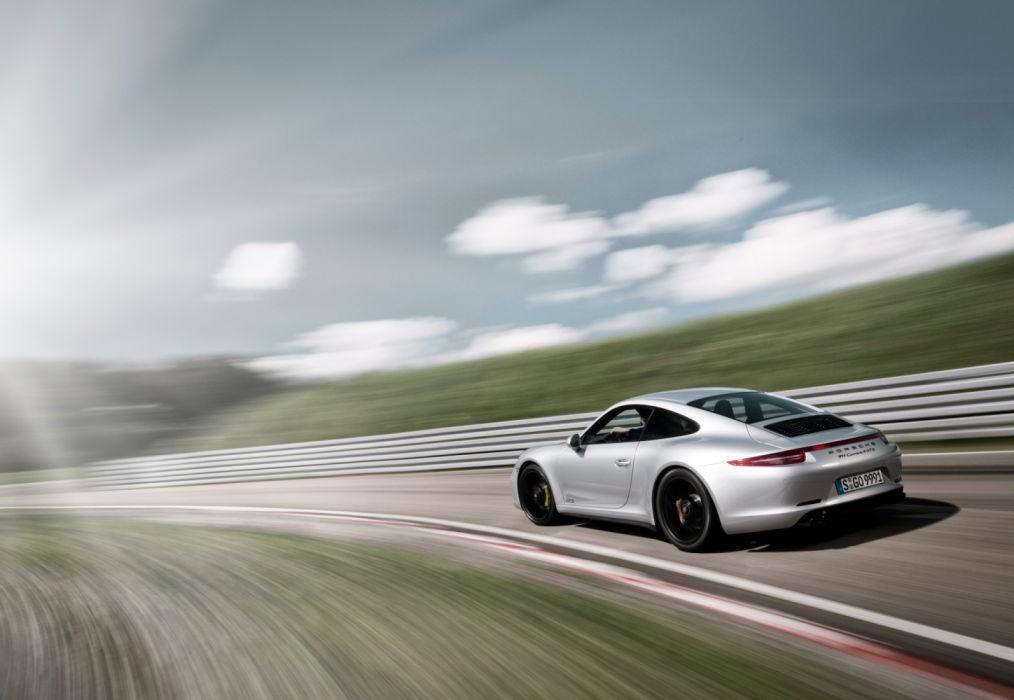 Porsche 911 Carrera 4 GTS 991 2014 wallpaper