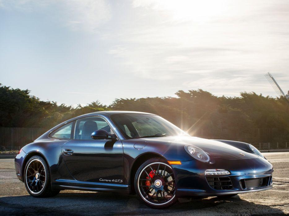 Porsche 911 Carrera 4 GTS 997 MkII 2011 wallpaper