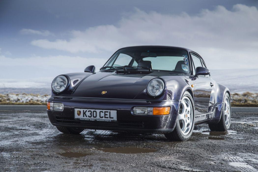 Porsche 911 Carrera 4 Turbolook 30 Jahre 911 964 MkII 1992 wallpaper