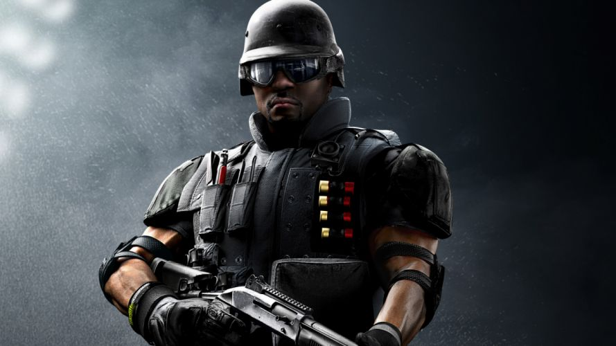 RAINBOW SIX action fighting military shooter tom war clancys warrior sci-fi futuristic wallpaper