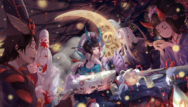 anime group wallpaper