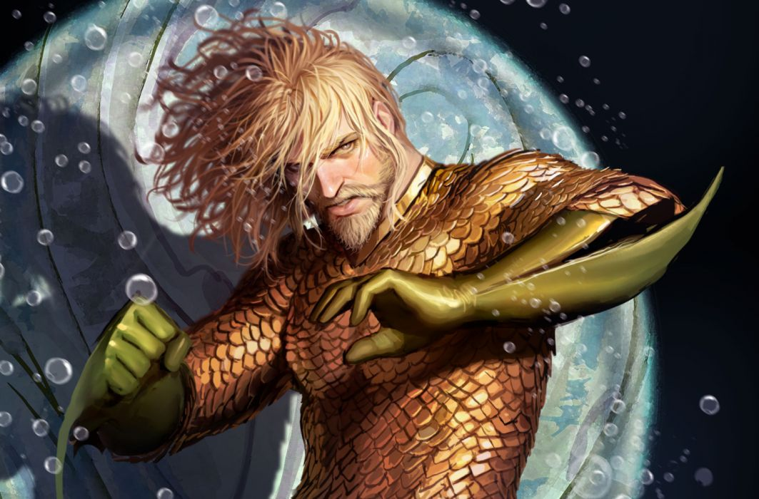 Superheroes Aquaman Artwork wallpaper
