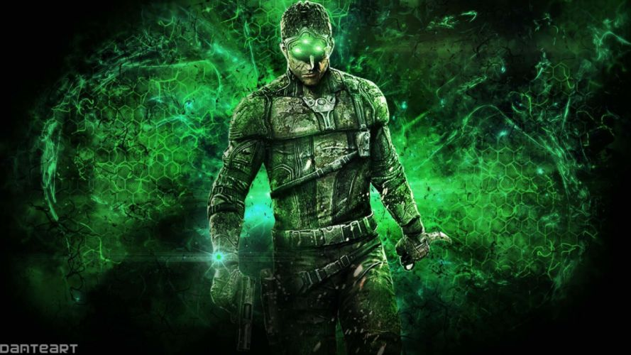 SPLINTER CELL action fighting military shooter tom war clancys warrior sci-fi futuristic fps wallpaper