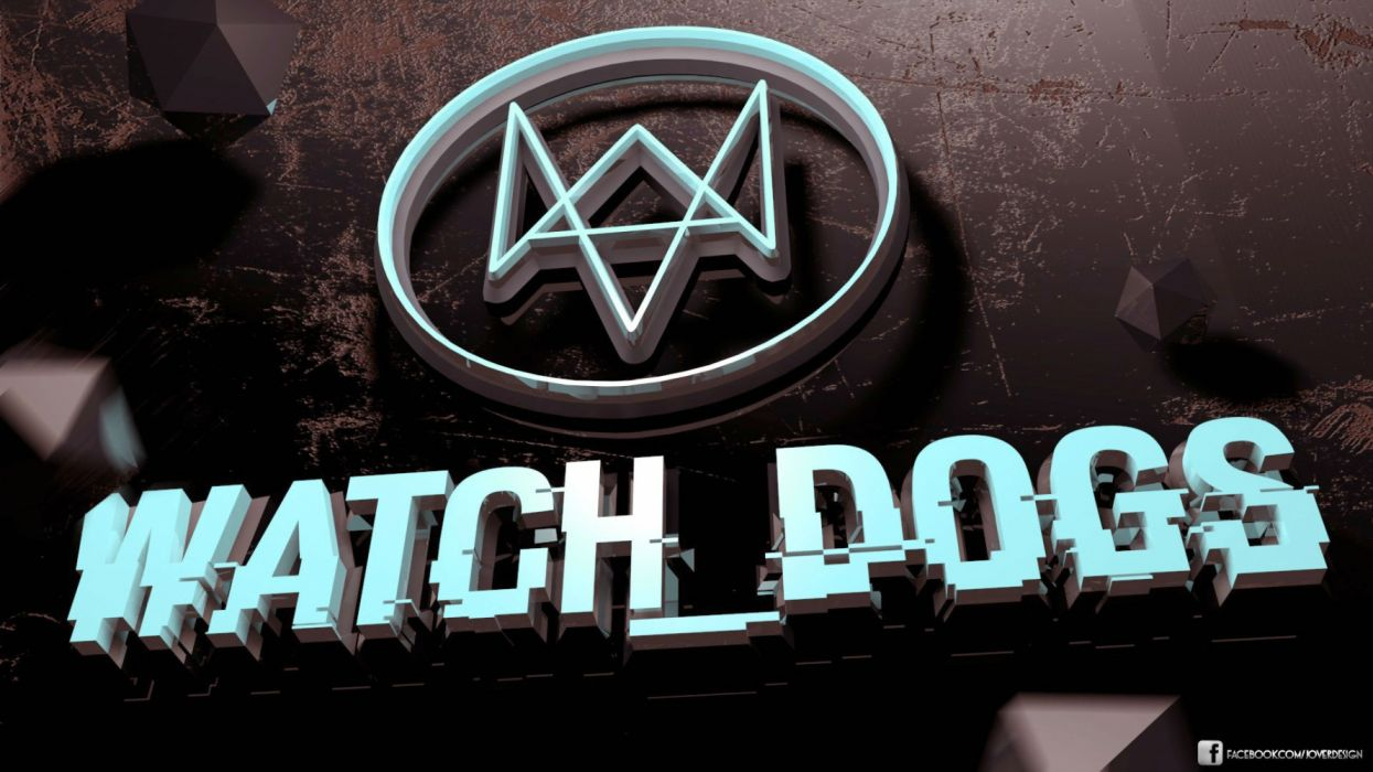WATCH DOGS action cyberpunk fighting futuristic sci-fi shooter fps wallpaper