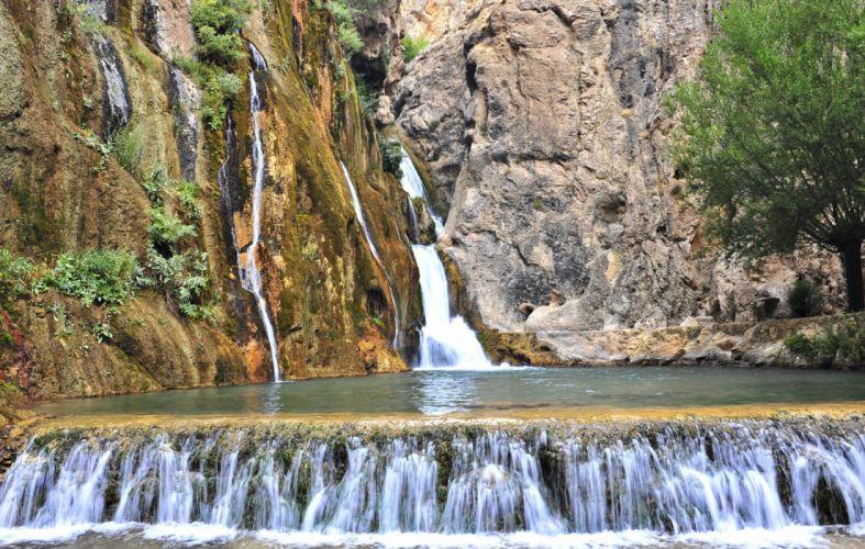 scenery landscape turkey natural beauty tree malatya gurpınar waterfall scenery malatya Photographer Fatih Oktay turkiye wallpaper
