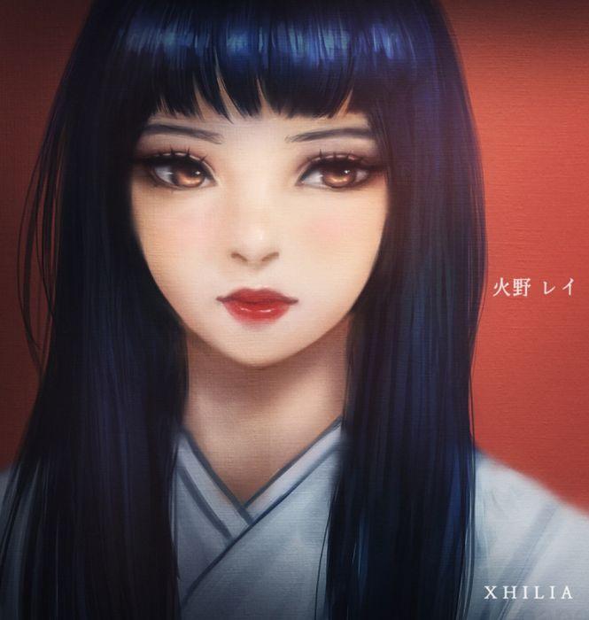 Rei Hino anime girl Bishoujo Senshi Sailor Moon wallpaper