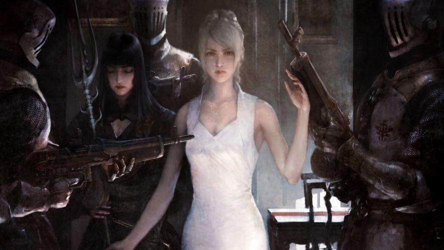 Games Luna Final Fantasy XV girls wallpaper
