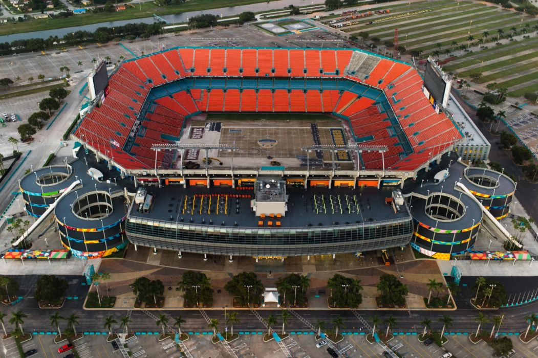 above American football sport sports field stadium wallpaper