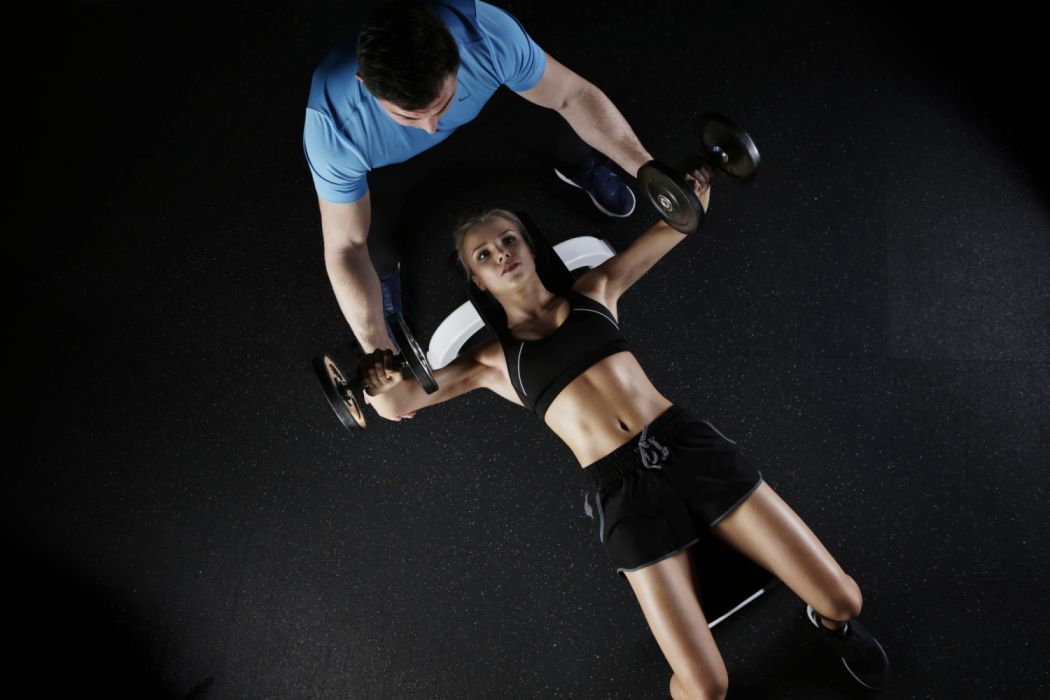 action active adult body bodybuilding exercise female figure fit fitness girl health healthy human indoors leisure man muscles person pretty recreation wallpaper