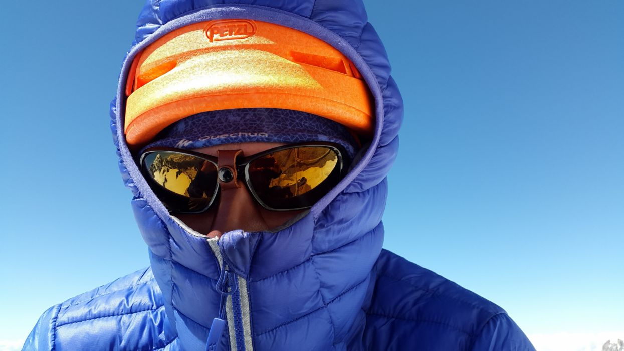 action adult adventure close-up clothing cold daylight down jacket extreme sports eyewear glacier glasses goggles hooded man wallpaper