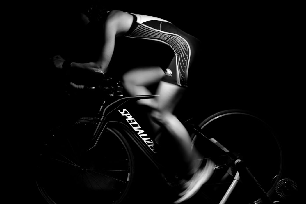 athlete bike black-and-white cycle cyclist dark exercise fit fitness sport strength training wallpaper