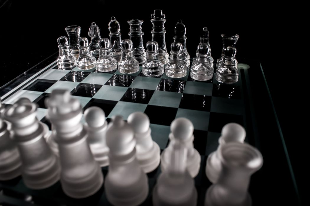 battle black board board game challenge checkerboard checkmate chess chessboard clever competition decision figure fun game glass intelligence king wallpaper