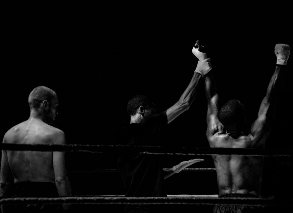black wallpaper black-and-white boxer boxing champion coach coaching contrast fight kickboxing lose loser sport trainer Victory win winner wallpaper