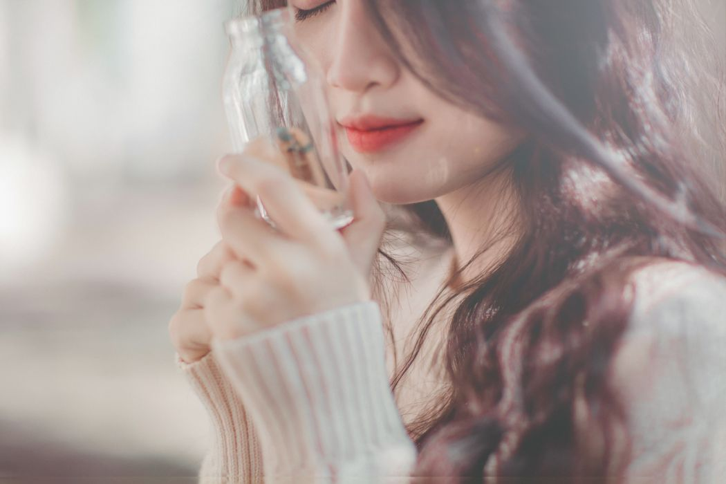 adult beautiful blur bottle cold cute face fashion girl glass hair hands holding leisure lifestyle model person photoshoot portrait pretty relaxation wear woman young wallpaper