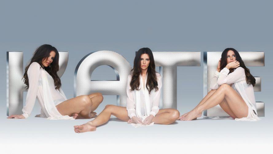 Sensuality sensual-sexy girl woman model Kate-Beckinsale legs knees collage wallpaper