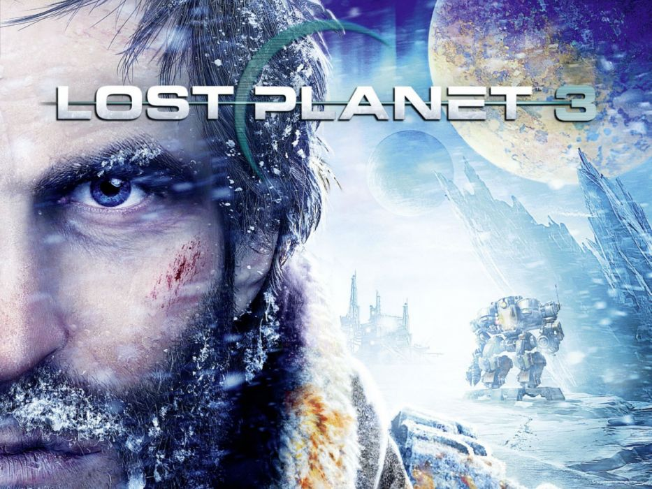 LOST PLANET tps shooter action fighting sci-fi futuristic wallpaper