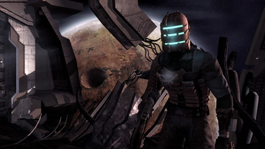 DEAD SPACE action fighting futuristic sci-fi shooter warrior fps technics survival horror video game wallpaper