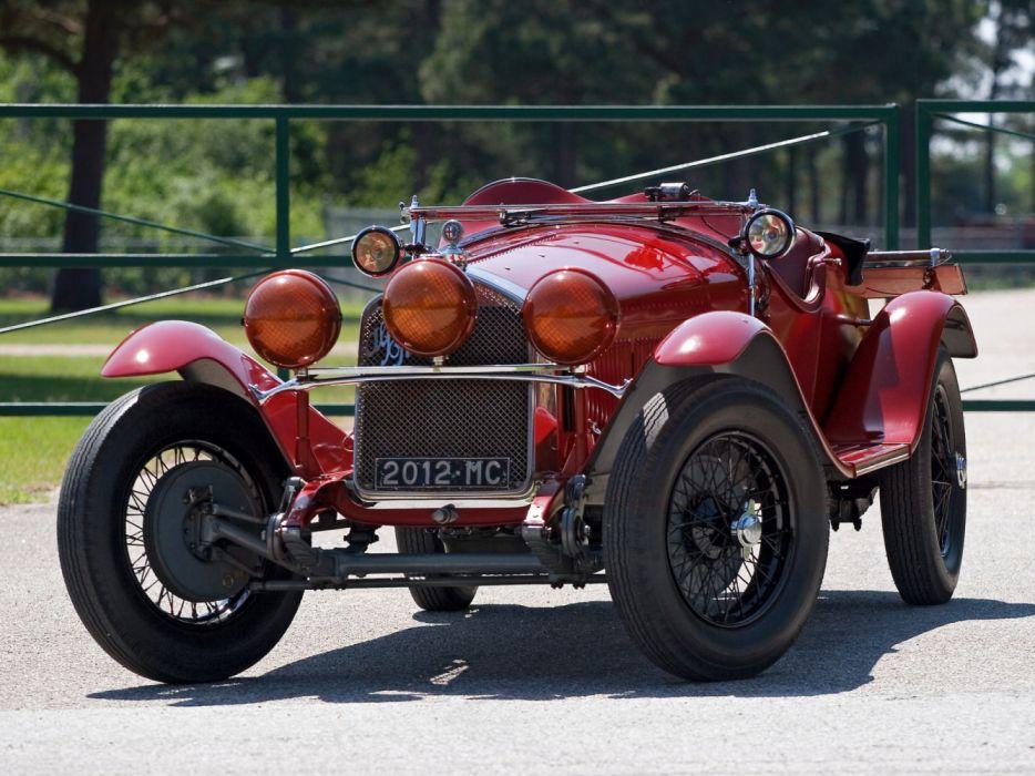 Alfa Romeo 6C 1750 GS 1930 wallpaper