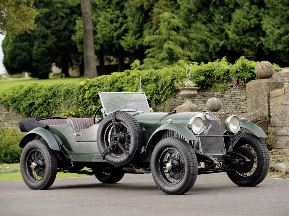 Alfa Romeo 6C 1750 SS Competition Tourer 1929 wallpaper