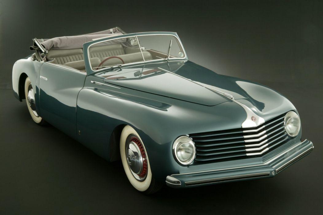 Alfa Romeo 6C 2500 S Cabriolet 1947 wallpaper