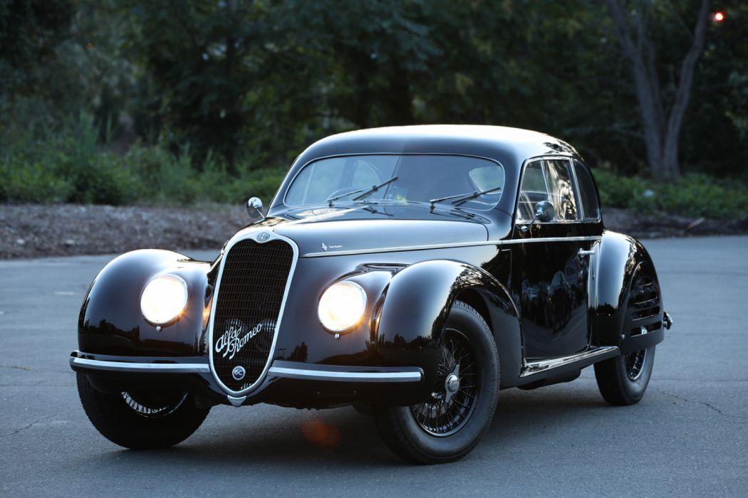 Alfa Romeo 6C 2500 SS Berlinetta 1939 wallpaper