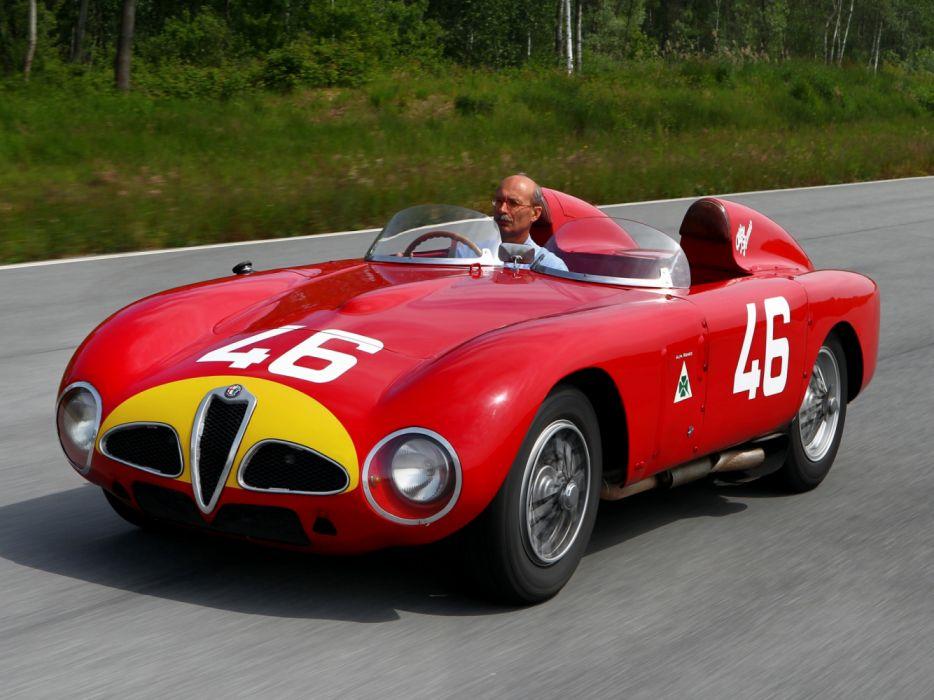 Alfa Romeo 6C 3000 CM 1953 wallpaper
