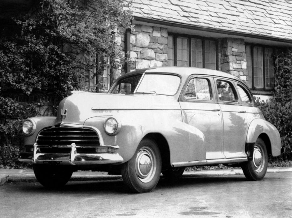Chevrolet Stylemaster 4-door Sport Sedan 1946 wallpaper
