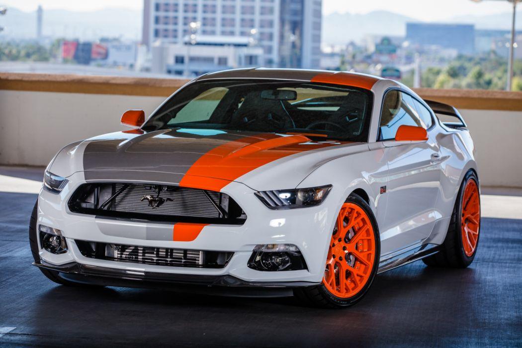 Bojix Design Ford Mustang EcoBoost Fastback 2016 wallpaper