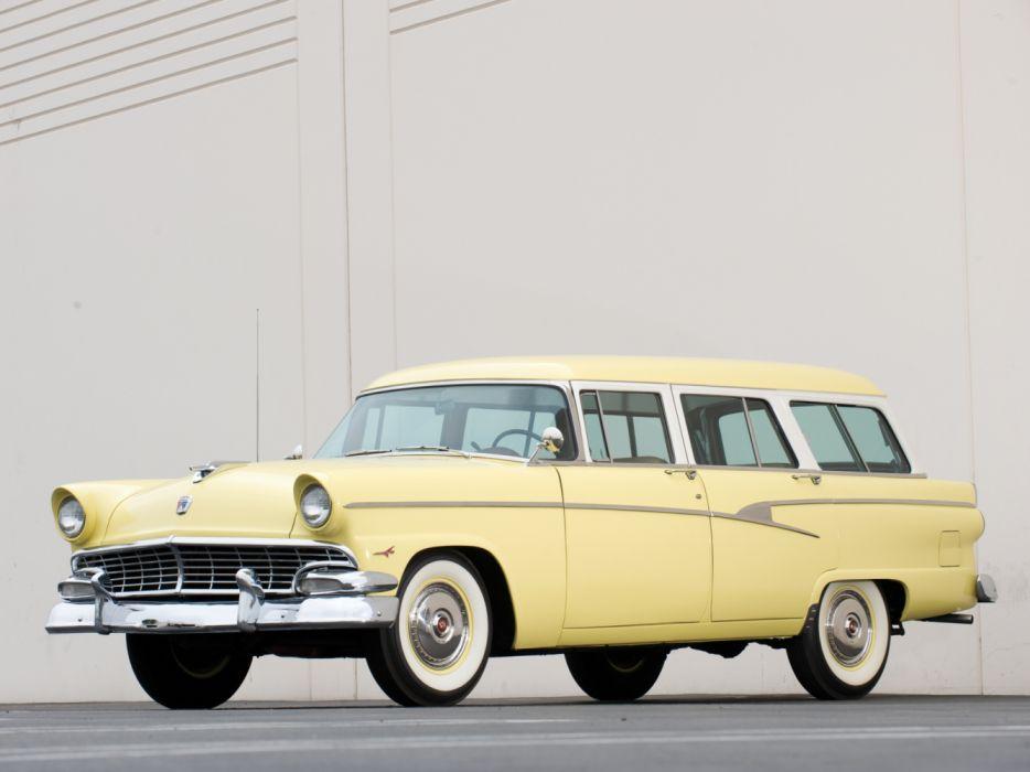 Ford Country Sedan 6-Passenger 1956 wallpaper