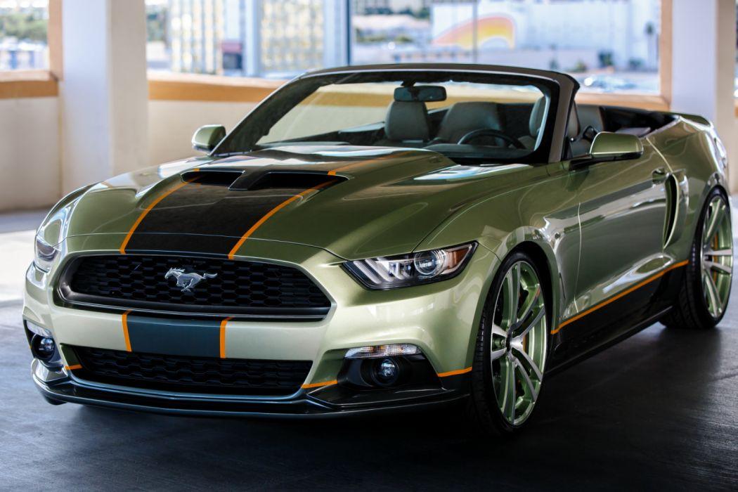Foose Design Ford Mustang Convertible 2014 wallpaper