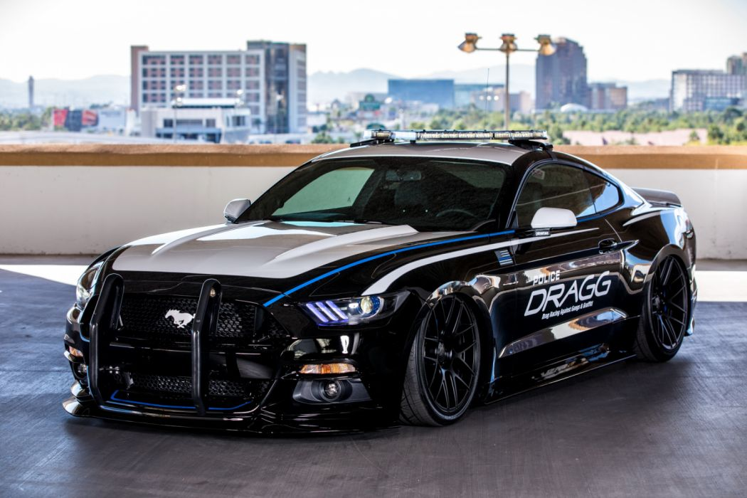 Dragg Ford Mustang EcoBoost Fastback 2016 wallpaper