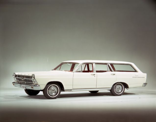 Ford Fairlane 500 Station Wagon 1966 wallpaper