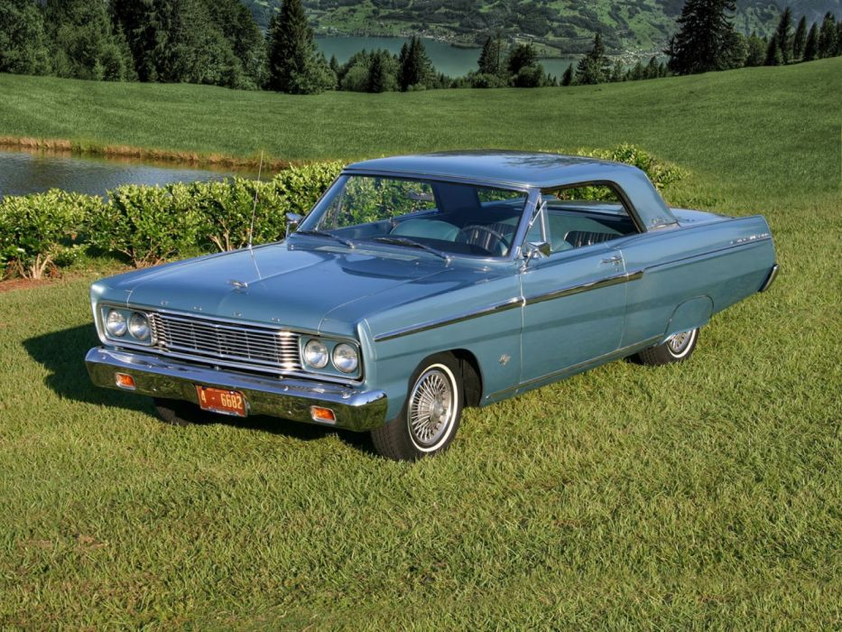 Ford Fairlane Sport Coupe 1965 wallpaper