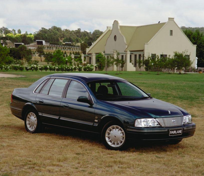 Ford Fairlane Ghia 1999 wallpaper