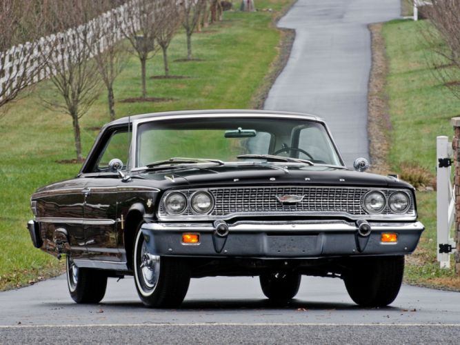 Ford Galaxie 500 R-Code Fastback Hardtop 1963 wallpaper