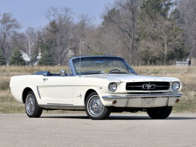 Ford Mustang 260 Convertible 1964 wallpaper