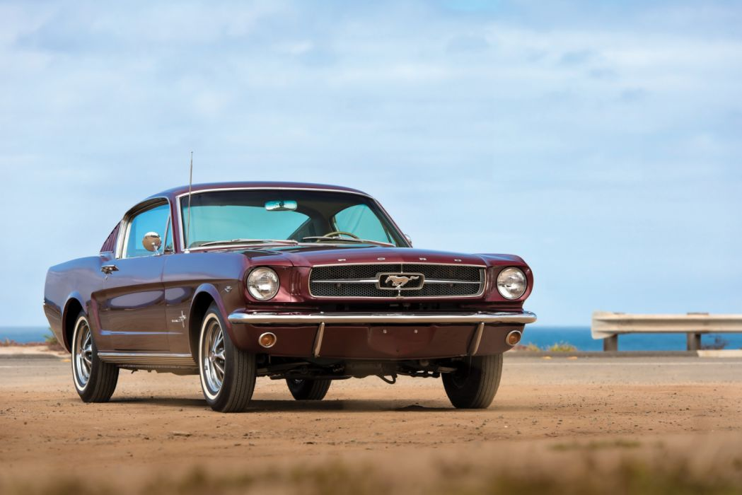 Ford Mustang A-Code 289-225 HP Fastback 1965 wallpaper