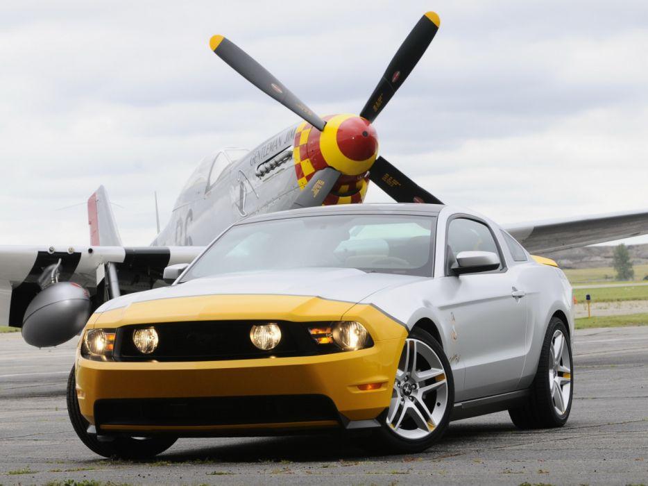 Ford Mustang AV-X10 Dearborn Doll 2009 wallpaper
