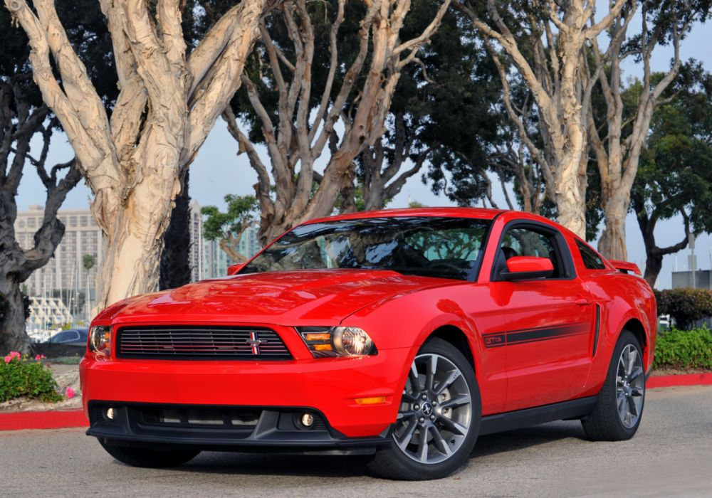 Ford Mustang 5 0 GT California Special Package 2011 wallpaper