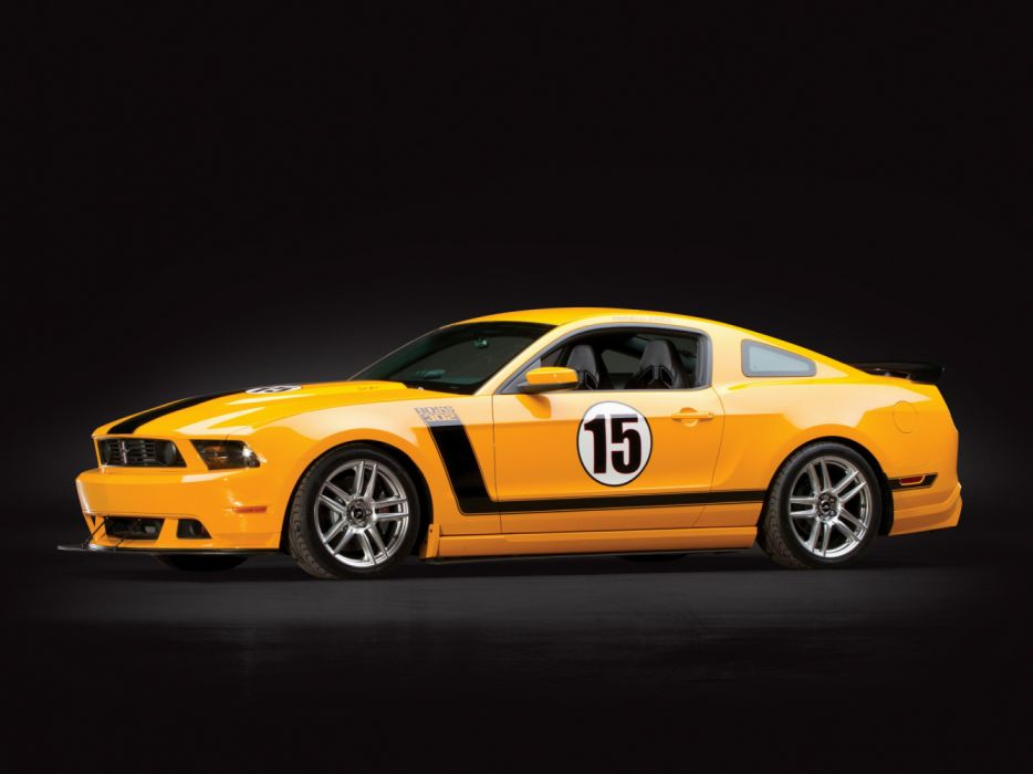 Ford Mustang Boss 302 Laguna Seca Parnelli Jones Edition 2012 wallpaper